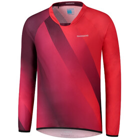 Shimano Fujimi LS Jersey Men, red